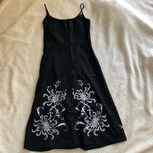 LOFT | Black & White Dress